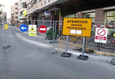 Todas las calles de Novelda serán cortadas por obras el próximo martes